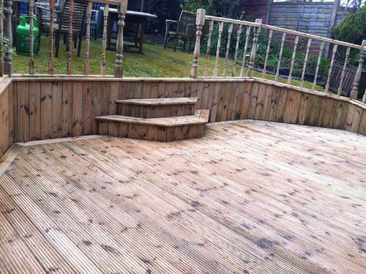Decking Cleaning in Manchester, After