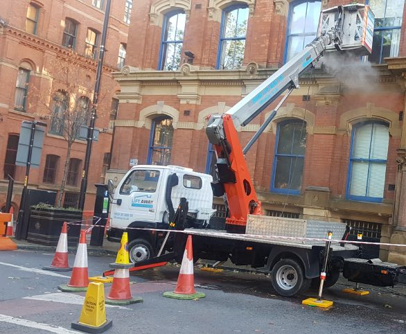 Cherry picker hire in Manchester, Northwest
