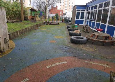 Playground Cleaning 1107