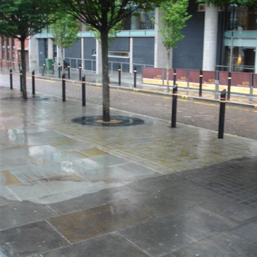 Street cleansing / city centre paving cleaning